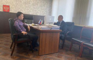 Встреча директора филиала ЦЛАТИ по Чеченской Республике с руководителем Росприроднадзора по Республике Ингушетия.